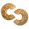 Bead Crimp Cover Stardust 4mm Gold